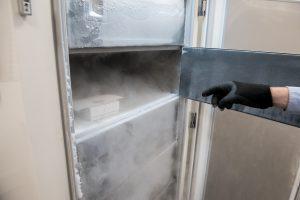 Ultra-low freezer storage at Q1 Scientific