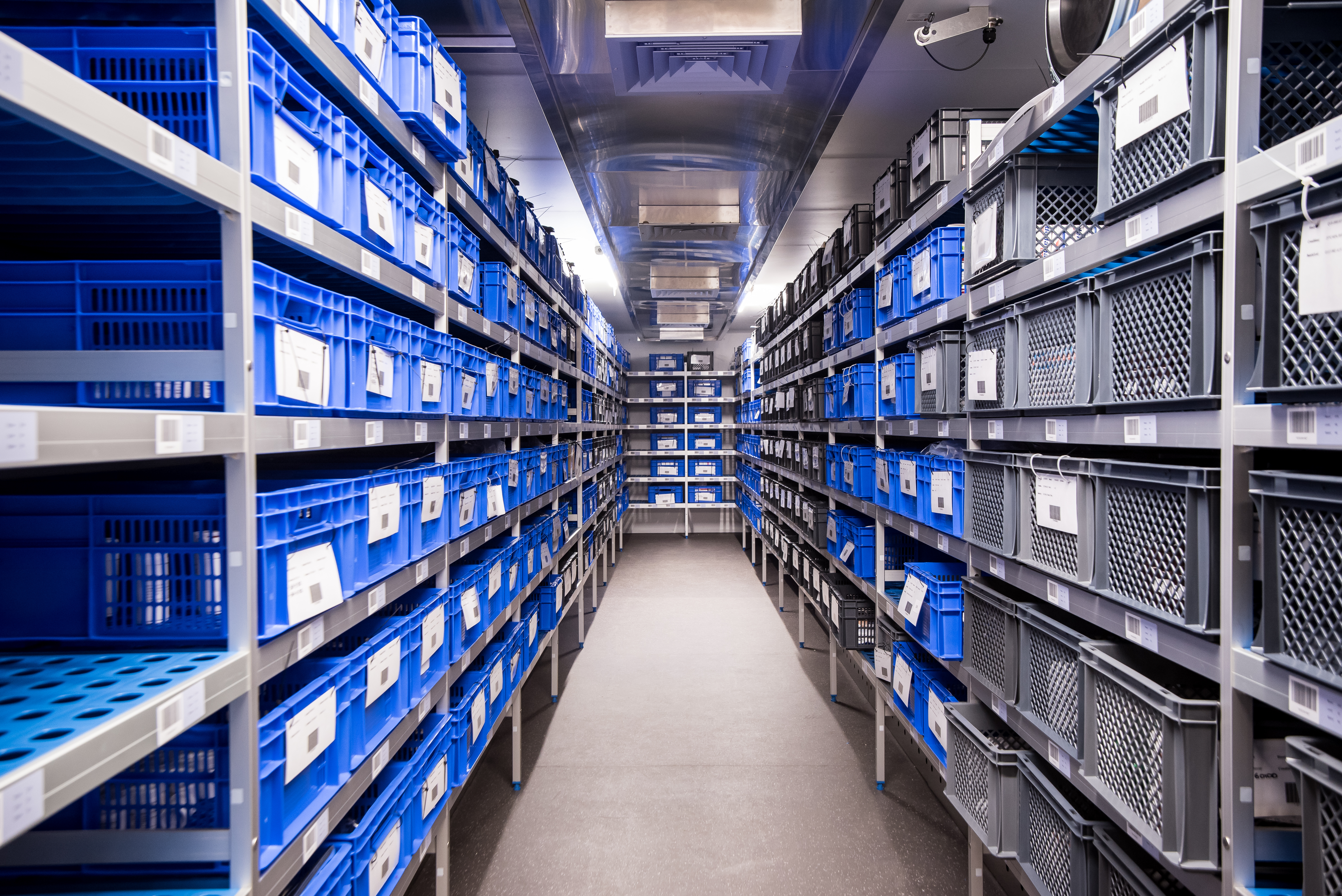 Stability Storage room at Q1 Scientific